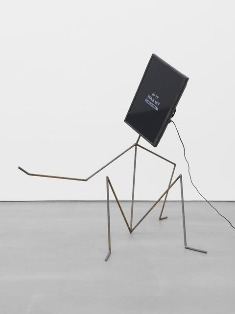 Laure Prouvost, 'Metal Man - Talking About Art', 2015, Outset Benefit Auction