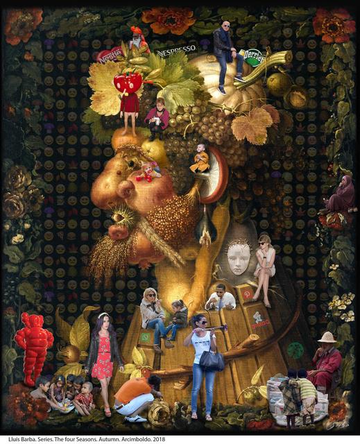 , 'The Four Seasons. Autumn. Arcimboldo,' 2018, Galeria Contrast