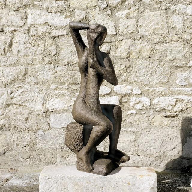 Wander Bertoni, 'Sitting Figure ', Design 1946, Galerie Bei Der Albertina Zetter