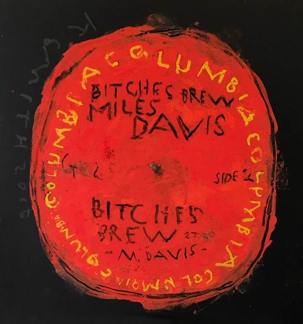 Kerry Smith, 'Off the Record / Miles Davis / Bitches Brew (side 2)', 2017, Cerbera Gallery