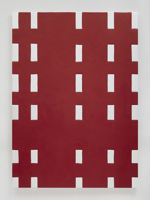 , 'Red and white blanket,' 2015, Susanne Vielmetter Los Angeles Projects