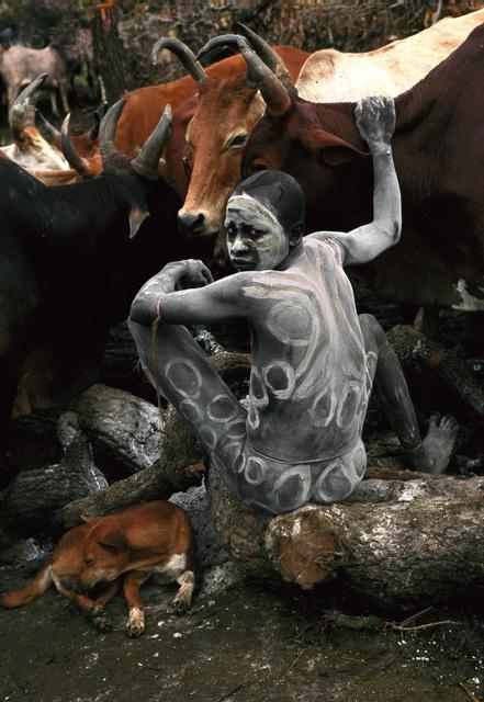 Hans Silvester, 'Les Peuples de L'Omo; no. 20', 2007, Print, C-print, Marlborough New York