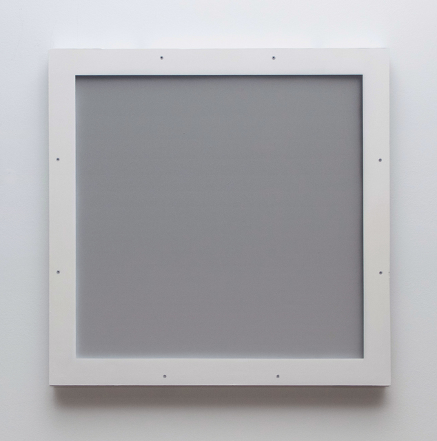 , 'Untitled (Blind for a Blind Gallery; Panel 2),' 2016, LAMB Arts