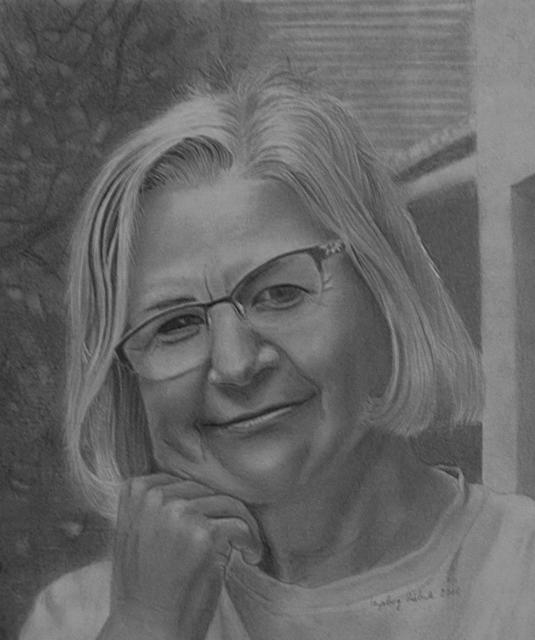 Ingeborg Haeberle, 'Self Portrait', 2018, the gallery STEINER