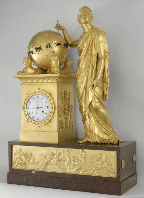 , 'Pendule ayant pour sujet Uranie (Pendulum with subject Urania),' 1813, Château de Fontainebleau