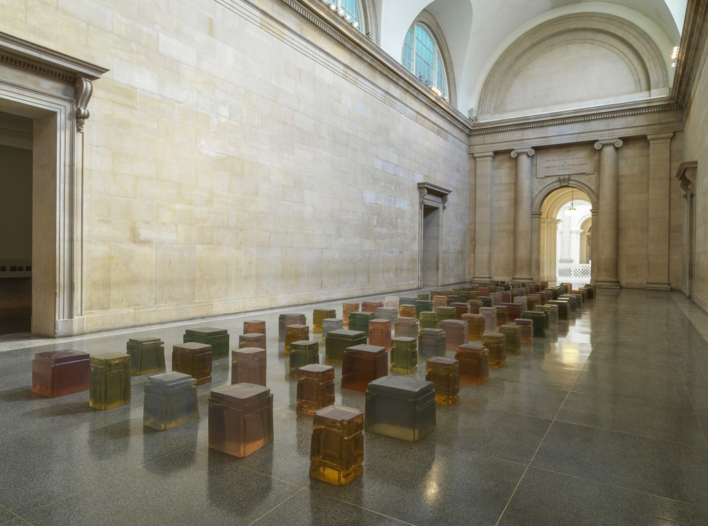 Rachel Whiteread, Untitled (One Hundred Spaces), 