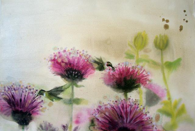 , 'Hummingbird Pollinators,' 2017, Imlay Gallery