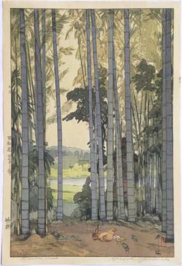 Yoshida Hiroshi, 'Bamboo Grove', ca. 1939, Scholten Japanese Art