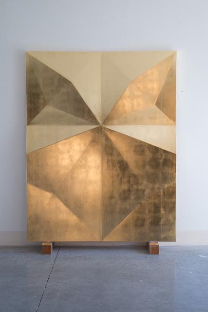 , 'Unfolded gold: Albali,' 2016, Galerie Laurent Godin