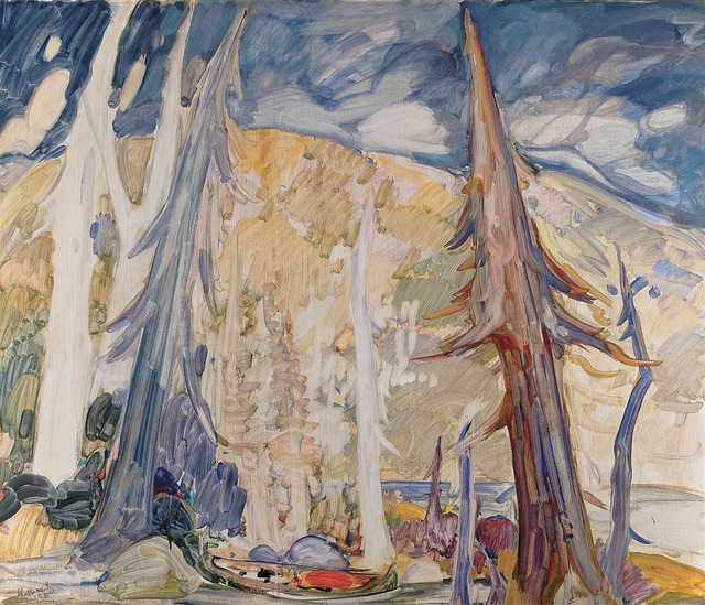 , 'Trapper in the Forest,' 1965, Canadian Fine Arts