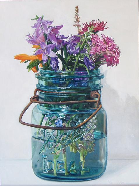 Peggie Blizard, 'Summer Flowers with Lavender Bells', 2019, George Billis Gallery
