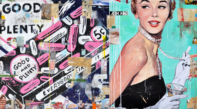 Greg Miller, 'Good & Plenty (Diptych)', 2019, Caldwell Snyder Gallery