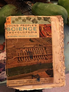 Purvis Young, 'Purvis Young Book, 'Young People's Science Encyclopedia' ', Hedges Projects