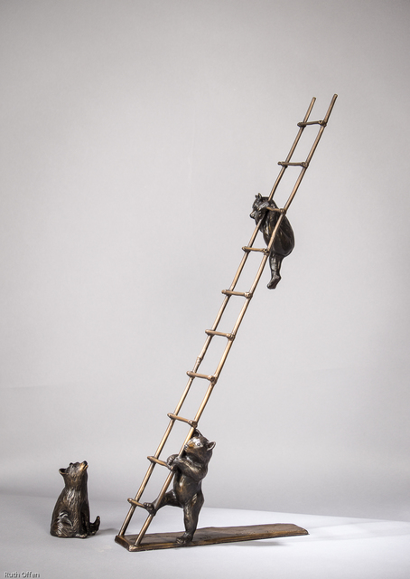 , 'Trouble - Cubs on a Ladder,' , WaterWorks Gallery
