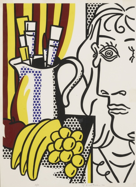 Roy Lichtenstein, 'Still Life with Picasso (C. 127)', 1973, Print, Screenprint in colors, Sotheby's