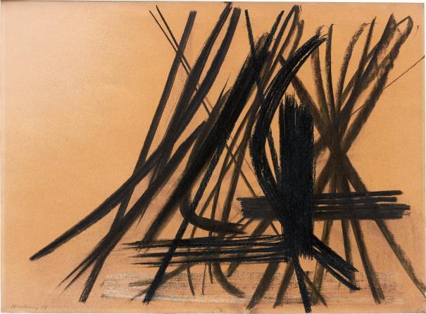 Hans Hartung, 'Composition', 1953, Phillips