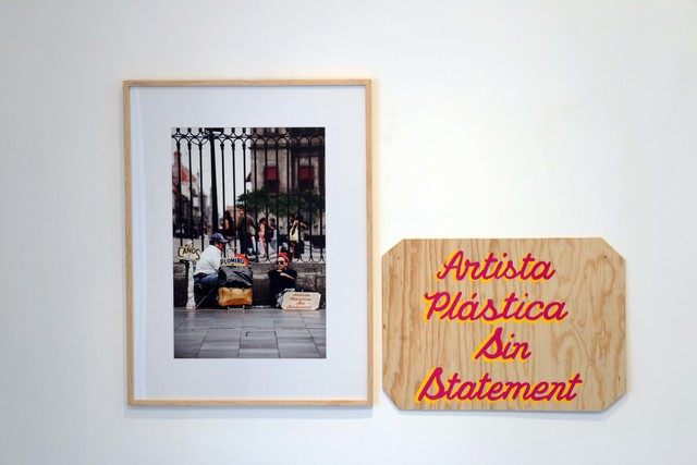 , 'Caños, plomería, se pintan casas, artista plástica,' 2015, Celaya Brothers Gallery