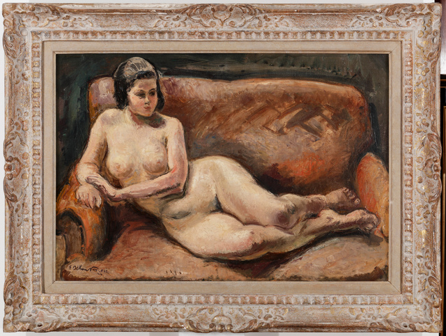 , 'Lying Nude,' 1924, Adolf Loos Apartment and Gallery