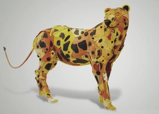 , 'Leopard,' 2016, Contessa Gallery