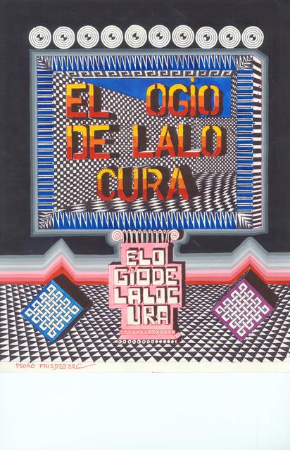 , 'El ogio de lalo cura,' 2016, MAIA Contemporary
