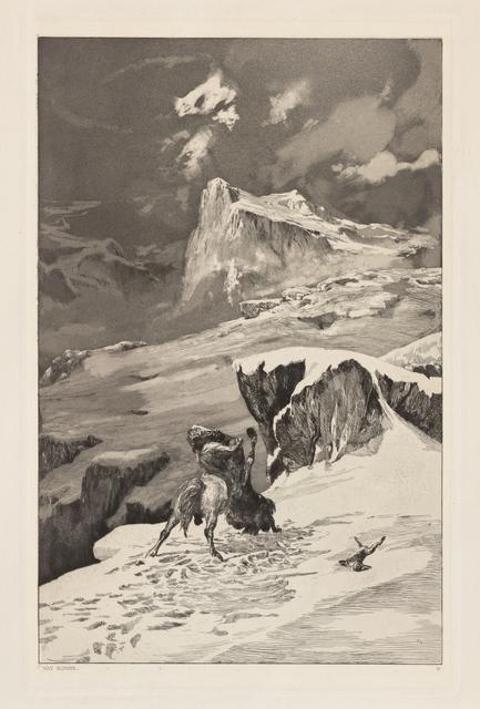 , 'Battling Centaurs (Kämpfende Centauren),' 1881, Clark Art Institute