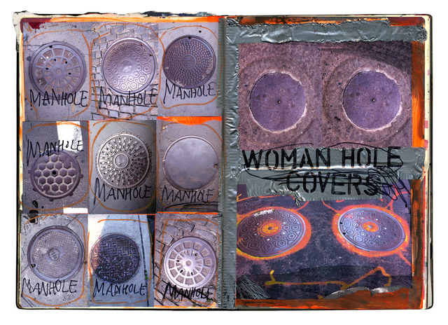 , 'Womanhole Covers ,' 2016, Exhibit No. 9
