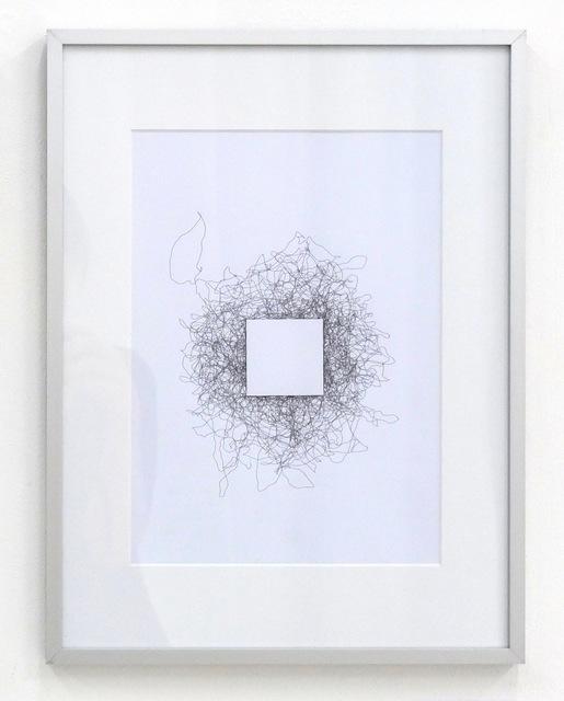 , 'Carré Blanc,' 2015, DAM Gallery