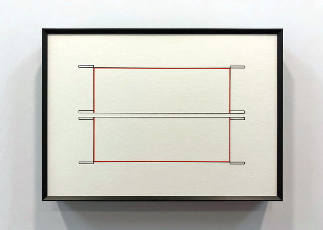 , 'Red Over Black - 5:7:8,' 2018, Quint Gallery