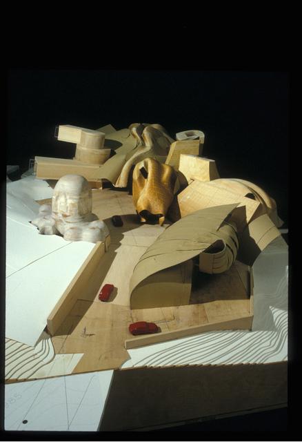 , 'Lewis Residence Final Model, unbuilt, Lyndhurst, Ohio,' 1989-1995, Los Angeles County Museum of Art