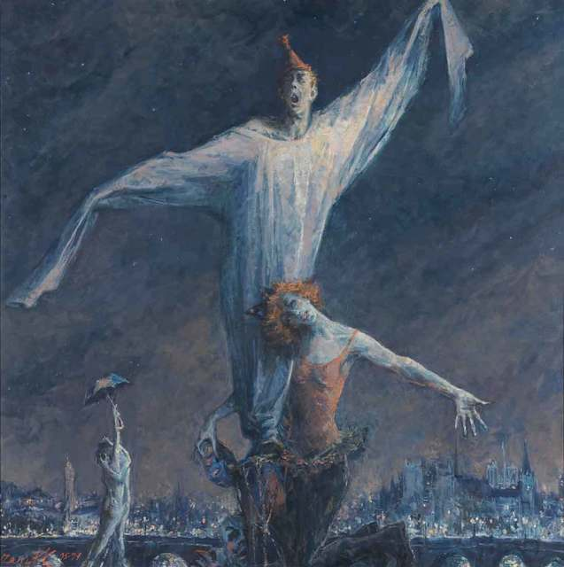 Sergei Chepik, 'Nijinsky, God's Clown', 1995, Catto Gallery