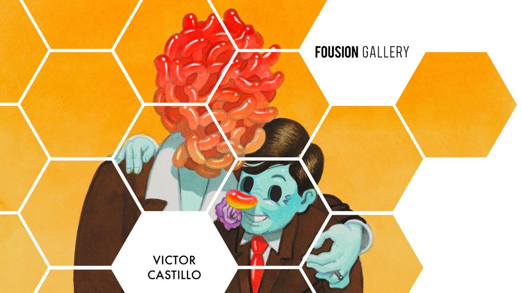 Victor Castillo – Fousion Gallery – at Urvanity Art Fair Madrid 2020