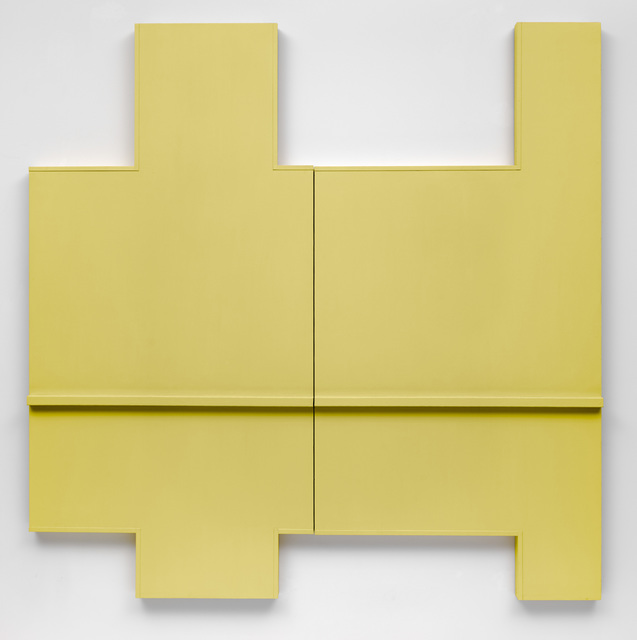 , 'Yellow Wall (Section I + II),' 1964, National Gallery of Art, Washington, D.C.