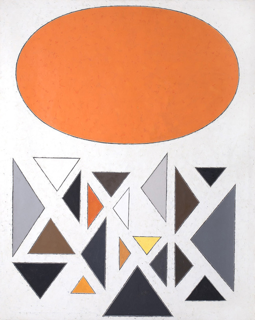 , 'Untitled,' 1950, Hostler Burrows