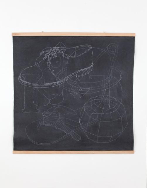 , 'Blackboard(Shoe),' 2014, Casey Kaplan