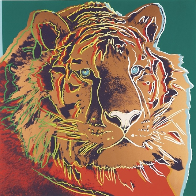 Andy Warhol, 'Siberian Tiger', 1983, michael lisi / contemporary art