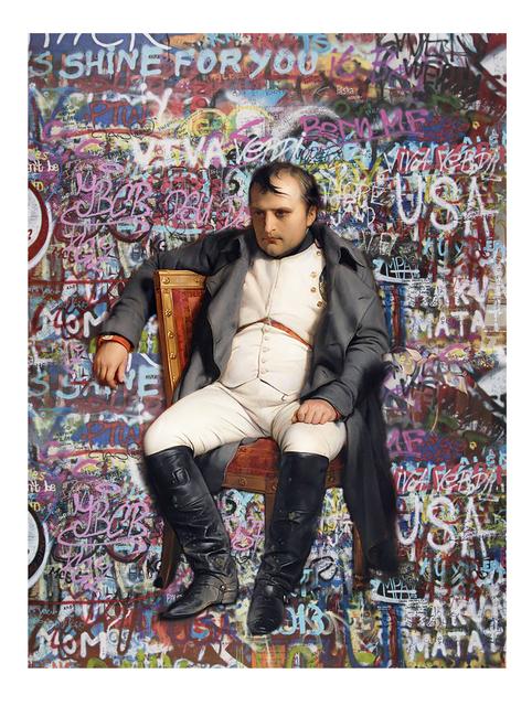 , 'Lazy Napoleon ,' 2018, 9 Strokes Gallery