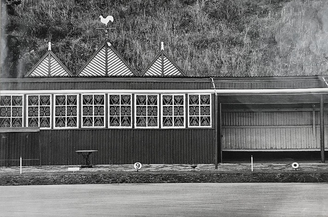 , 'Bowling Club, Crown Mines, Johannesburg,' 1969, James Hyman Gallery