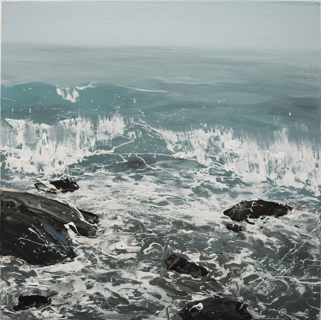 Annie Wildey, 'Rocks n Surf', 2015, Kathryn Markel Fine Arts