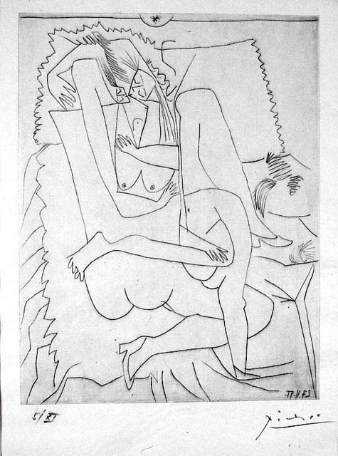 Pablo Picasso, 'Le Couple', 1951, Harris Schrank Fine Prints