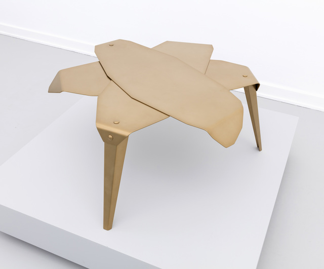 , 'Folded leaf table,' 2019, Etage Projects