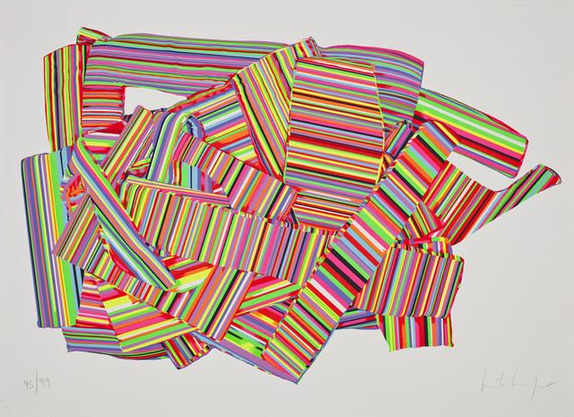 , 'Geometria blanda II,' 2014, Praxis Prints