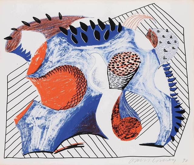 David Hockney, 'Untitled (For Joe Wachs)', 1993, Lyndsey Ingram