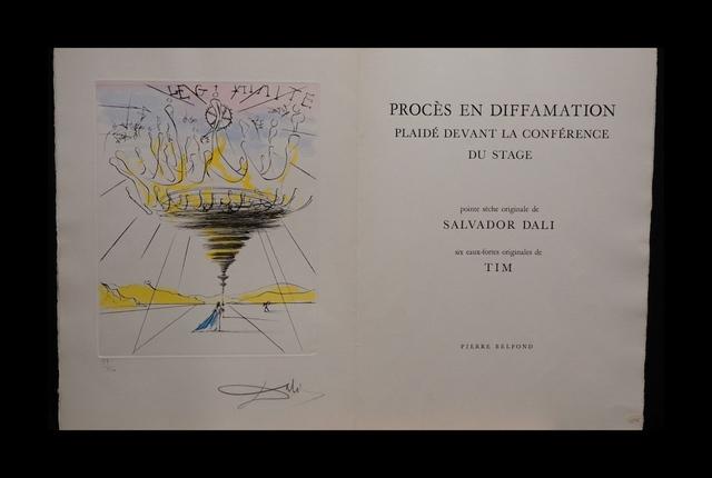 Salvador Dalí, 'Legitimite - Process and Defamation Complete Suite', 1971, Fine Art Acquisitions