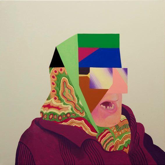 , 'Babushka,' 2014, Triangle