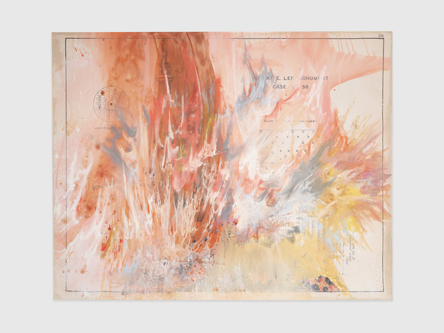Firelei Báez, 'May 19, 2017, 6:05 p.m. (an idiom playing out its history)', 2019, James Cohan