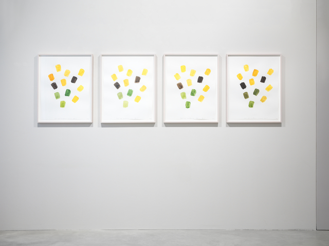 , 'Still Life (Sunflowers) morning effect, noon effect, afternoon effect, evening effect ,' 2016, Galerie Nordenhake