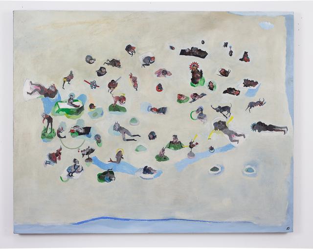 , 'Demographic landscape,' 2017, Galerie Claire Corcia