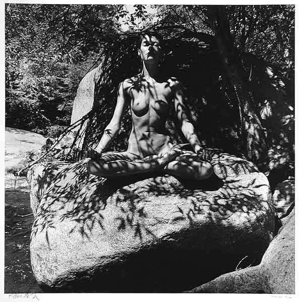 Eikoh Hosoe, 'Twinka on Rock in Yosemite', 1974, Susan Spiritus Gallery