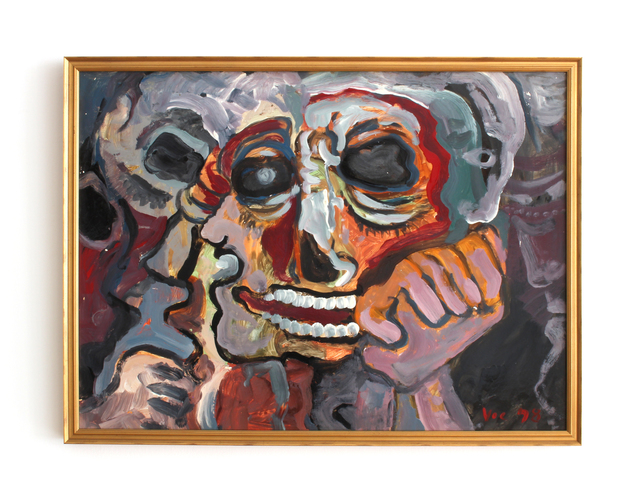 , ' Untitled (Skull),' 1978, HARPY