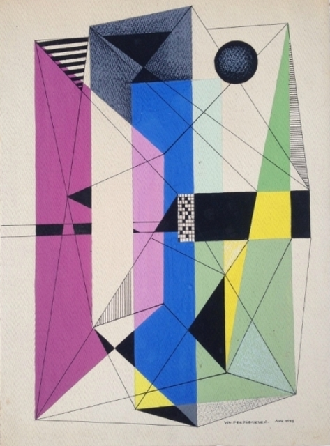 , 'Untitled Constructivism Collage,' 1947, Gillian Bryce Fine Art